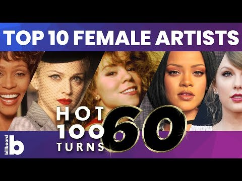 Billboard Top 10 Female Artists of All Time