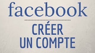 Comment CRÉER un COMPTE Facebook