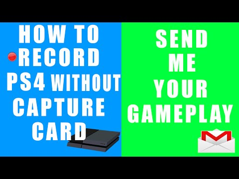 How To Record PS4 Gameplay & Send Me Your Gameplay!!