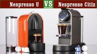 Nespresso U vs Citiz