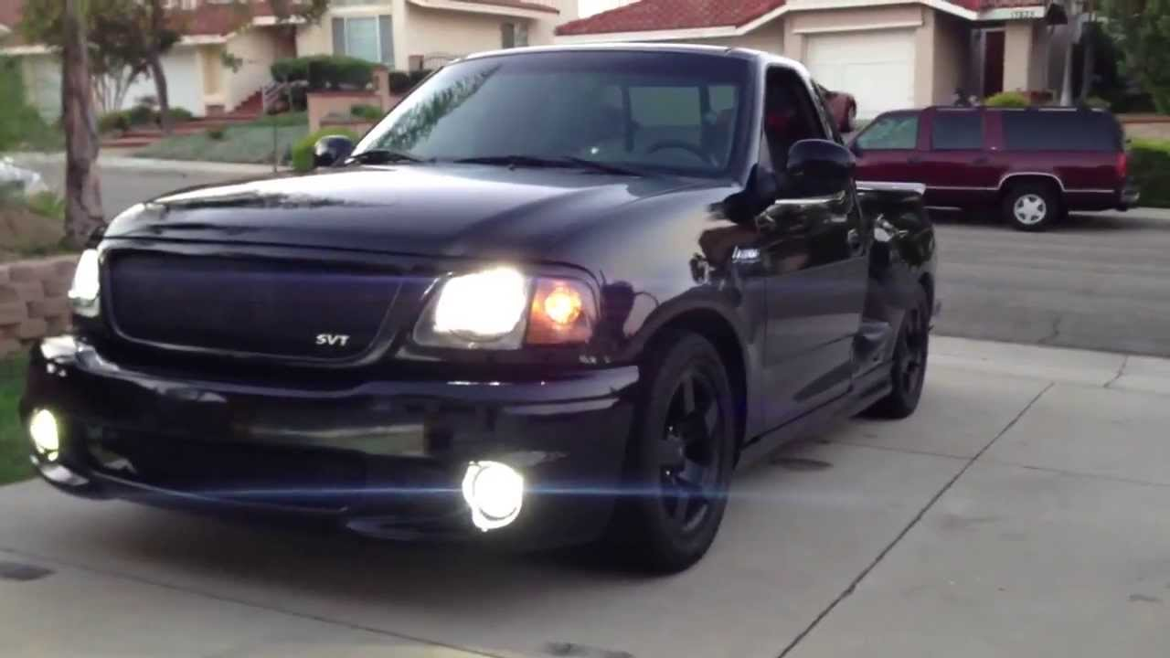 2001 Ford F-150 SVT Lightning Walkaround - YouTube