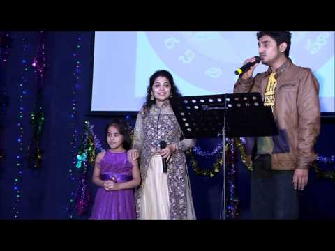 Pacha bottesina by Damini Bhatla and Arun Kaundinya at Telugu Tarangini Ugadi 2016