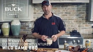 Buck Knives and Elite Outdoor Adventures – Wild Game BBQ