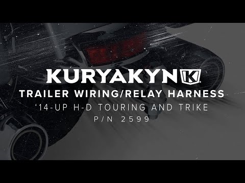 Kuryakyn Trailer Wiring and Relay Harness for '14-'21 Touring and Trike