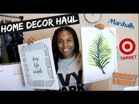 Home Decor Haul | Office Decor!
