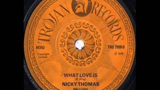 Nicky Thomas - What Is Love.avi
