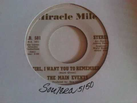Girl, I Want You To Remember ~ The Main Events.wmv