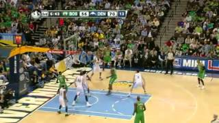 NBA Boston Celtics Vs Denver Nuggets Highlights Mar 17, 2012 Game Recap