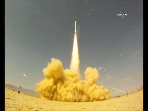 Bir Roketin Saniye Saniye Uzaya Çıkışı - Output rocket into space 3516Km/s