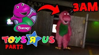 DONT WATCH BARNEY CREEPYPASTAS AT 3AM AT TOYS R US OR BARNEY.EXE WILL APPEAR | REAL BARNEY.EXE!