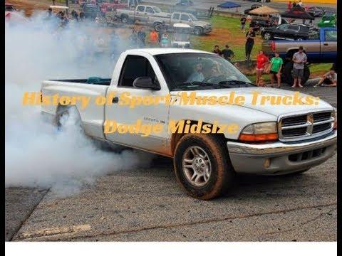 History of Sport/Muscle Trucks: Dakota & Durango