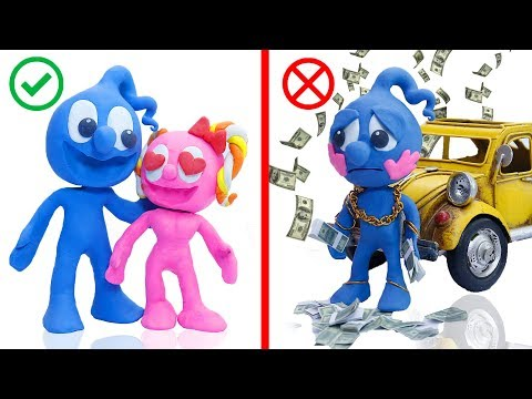 CLAY MIXER: TINY ALADDIN GENIE FIRST WISH 馃挅 Play Doh Cartoons For Kids