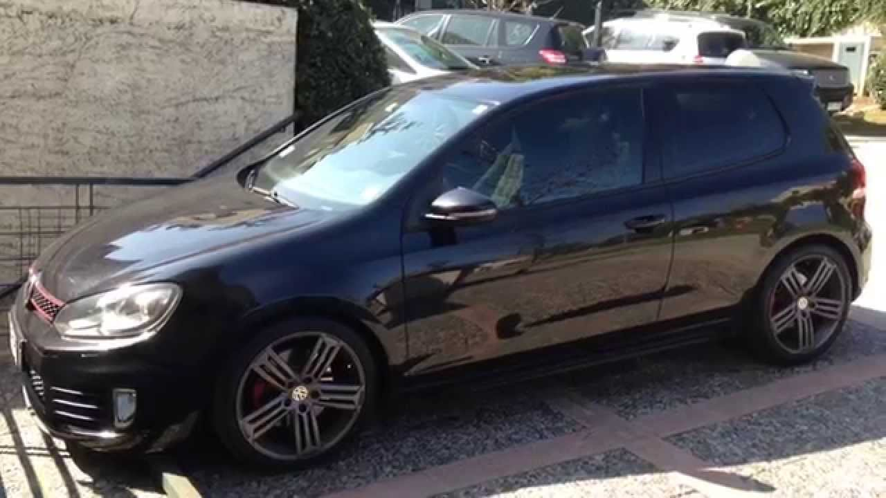 Nice MK6 Golf GTI with R rims - YouTube