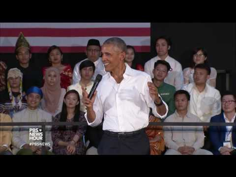 News Wrap: Obama urges Americans to learn about other cultures during Laos visit