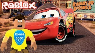Roblox Save Lightning McQueen Obby ! || Roblox Gameplay || Konas2002