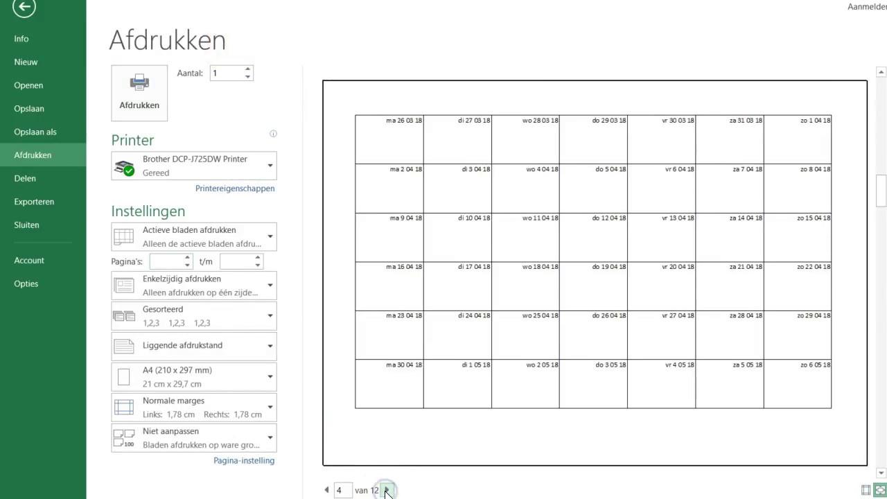 Online kalender paare