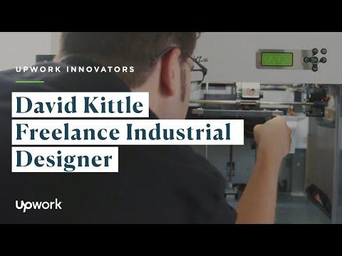 Upwork Innovators: David Kittle | Freelance Industrial Designer