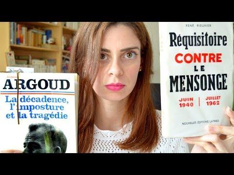 Réquisitoire contre la trahison du général de Gaulle en Algérie (1958-62) | RIEUNIER & ARGOUD