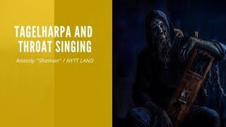 Tagelharpa and throat singing nordic folk music improvisation by siberian vikings of Nytt Land band.