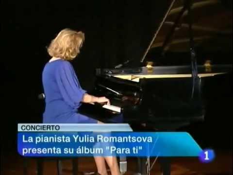 YULIA ROMANTSOVA. TELEVISIÓN ESPAÑOLA. NOTICIAS.