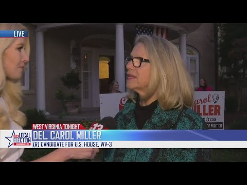 Carol Miller Speaks with 13 News Before Her Win