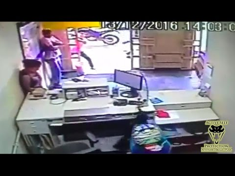 Perhaps the Wildest Armed Robbery Gunfight You'll Ever See | Active Self Protection