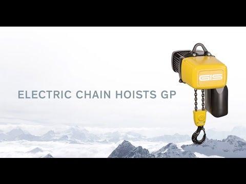 GIS GP Electric Chain Hoist Product Video 2017