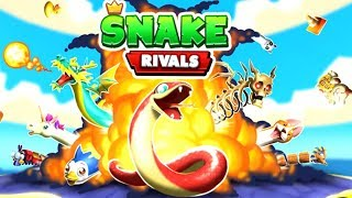 Snake Rivals Battle Royale – The King of the Snakes - 3D Online Multiplayer Slither.io Games