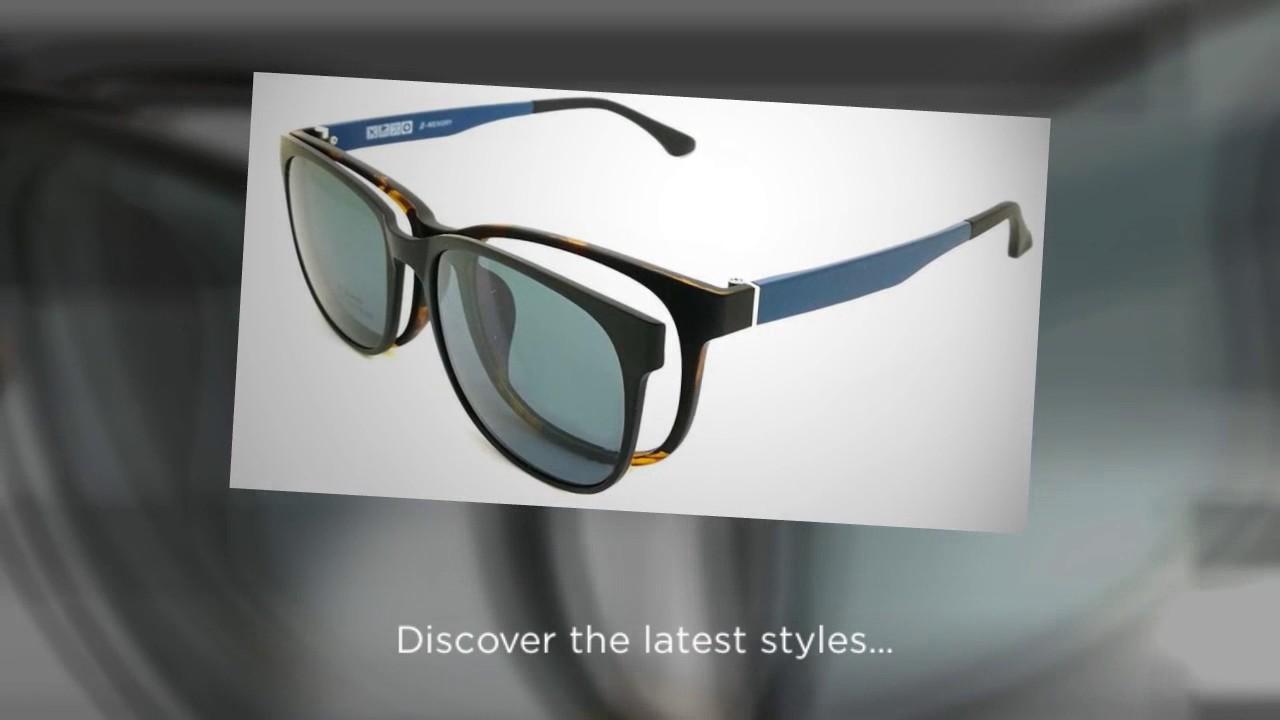 e6516080d65 Magnetic Clip on Sunglasses - YouTube