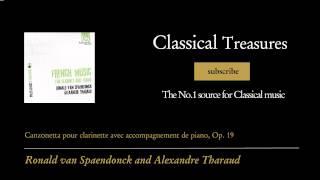 Gabriel Pierné - Canzonetta pour clarinette avec accompagnement de piano, Op. 19