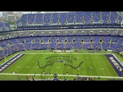 Marching Ravens Pregame Show 10.15.17