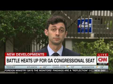 CNN Points Out to Ossoff that He Can't Vote For Himself Because He Doesn't Live in the District
