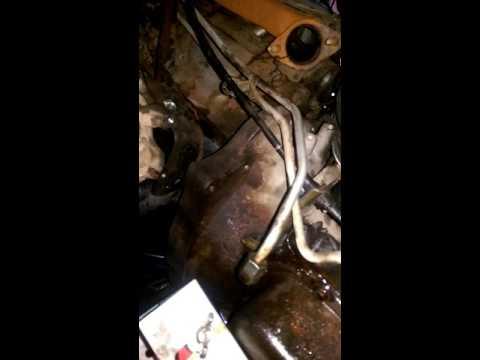 Removing 1998 Dakota 4x4 transmission