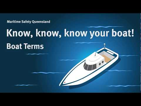 Maritime Safety Queensland - Boat Terms