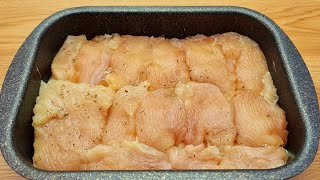A quick recipe for juicy chicken fillet in the oven! Dinner for the whole family! # 132🔝❗❗