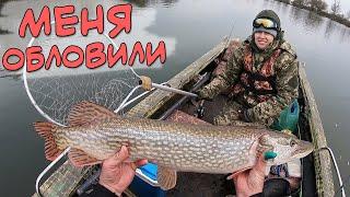 Рыбалка на щуку на Днестре
