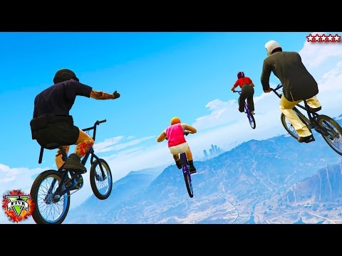 GTA 5 BMX Races & Funny Gameplay & Moments!! (GTA 5) PC