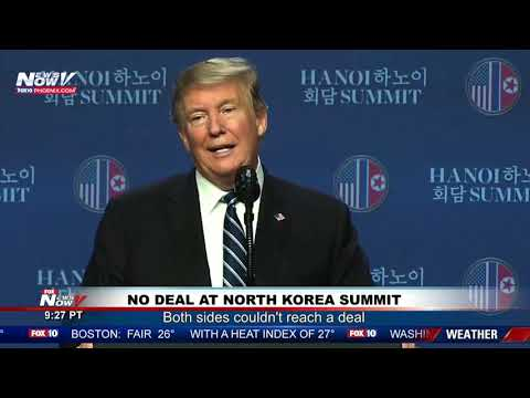 NO DEAL: FULL President Trump News Conference on North Korea Summit