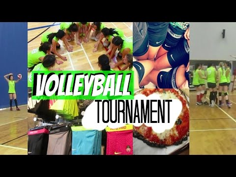 Volleyball Tournament Vlog #3 {Booster Juice, Volleyball, Shopping, Subway, Adventures}