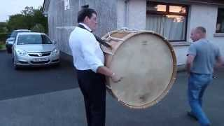 Lambeg Drum .The Pride Of Taylorstown 11th July 2011. County Antrim.
