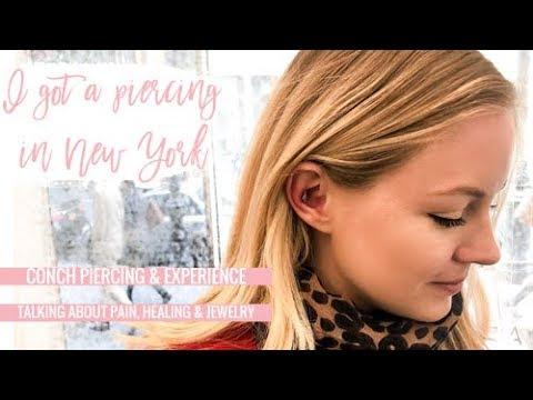 I got a piercing in NYC | Axelle Blanpain