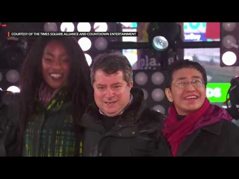 Times Square New Year's Eve Ball Drop countdown