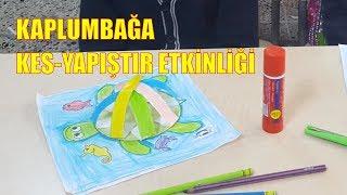 KAPLUMBAĞA ÇALIŞMASI- KES YAPIŞTIR ETKİNLİĞİ, TURTLE CRAFT