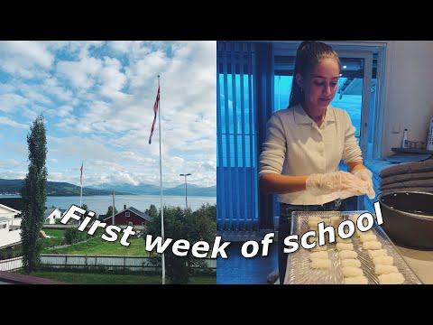 AFS Exchange Student In Norway Week 1: First Week Of School!