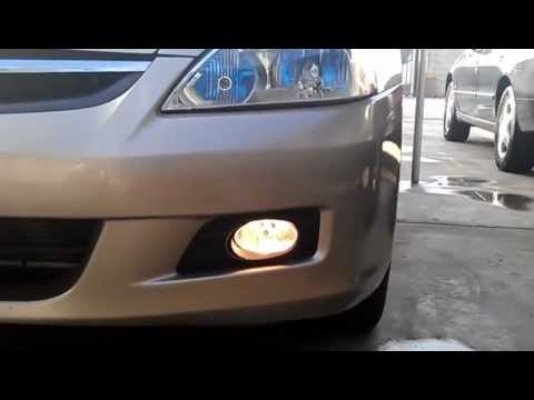 hqdefault 2006 honda accord fog lights youtube  at nearapp.co