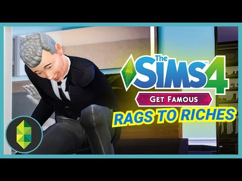 GETTING MY TV BACK - Part 23 - Rags to Riches (Sims 4 Get Famous) thumbnail