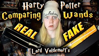 Today's video i compare two Harry Potter wands - The Noble Collecti...