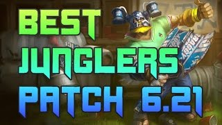 Best Junglers Patch 6.21 | Best Junglers To Carry Solo Queue Patch 6.21