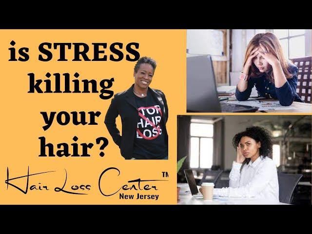 4 ways Stress increases hair loss!