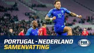 HIGHLIGHTS | Portugal - Nederland